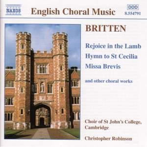 Benjamin Britten - Sacred Choral Music Product Image