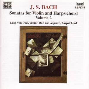JS Bach: Sonatas for Violin & Harpsichord Vol. 2