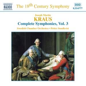 Kraus: Symphonies, Vol. 3 Product Image
