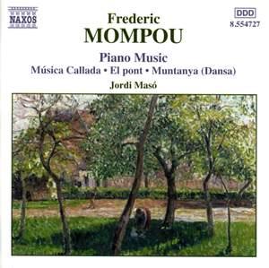 Mompou - Piano Music Volume 4