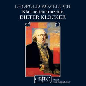 Kozeluch: Clarinet Concertos Nos. 1 & 2 and Sonate concertante Product Image