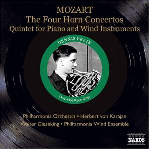 Mozart: The Four Horn Concertos