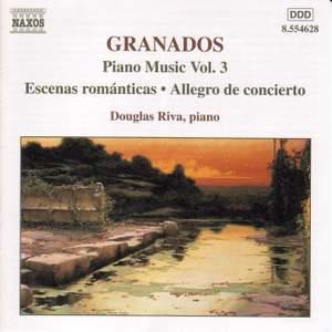 Granados - Piano Music Volume 3