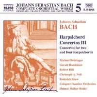 Bach, J.S.: Harpsichord Concertos, Vol. 3