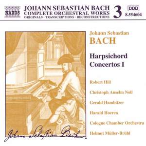 Bach, J.S.: Harpsichord Concertos, Vol. 1