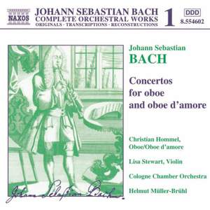 Bach - Concertos for Oboe and Oboe d'Amore