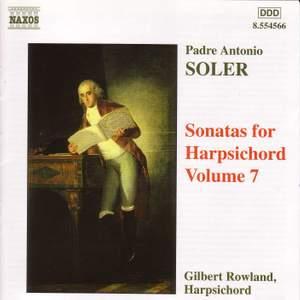 Soler - Sonatas for Harpsichord Volume 7