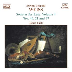 Weiss: Lute Sonatas Volume 4