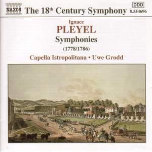 Pleyel: Symphonies in C major, F minor & C minor