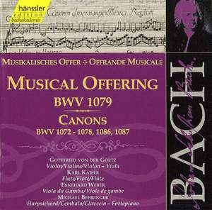JS Bach: Musical Offering & Canons Product Image