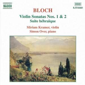 Bloch: Violin Sonatas Nos. 1 & 2 Product Image