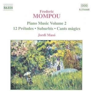 Mompou - Piano Music Volume 2