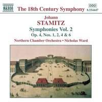 Johann Stamitz: Symphonies, Vol. 2