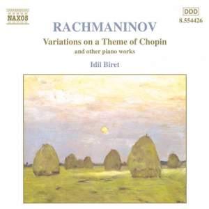 Rachmaninov: Variations on a Theme of Chopin