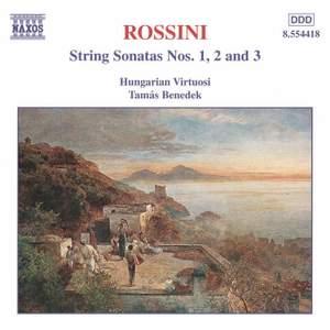 Rossini: String Sonatas Nos. 1, 2 & 3