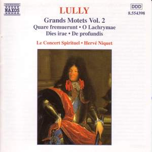 Lully: Grand Motets, Vol. 2