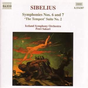 Sibelius: Symphony Nos. 6 & 7 Product Image
