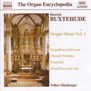 Buxtehude - Organ Music Volume 1