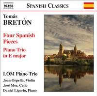 Tomás Bretón: Piano Trio