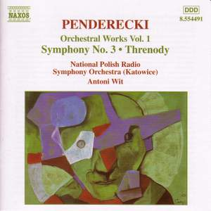 Penderecki: Orchestral Works Vol. 1 Product Image