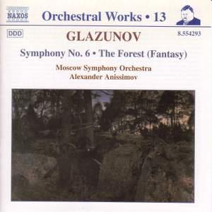 Glazunov - Orchestral Works Volume 13