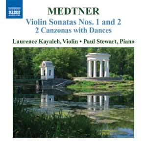 Medtner - Complete Works for Violin and Piano Volume 2