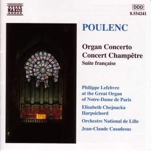 Poulenc: Organ Concerto & Concert champêtre