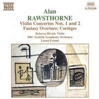 Rawsthorne, A: Fantasy Overture: Corteges, etc.