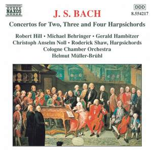 J. S. Bach: Concertos For Two, Three And Four Harpsichords
