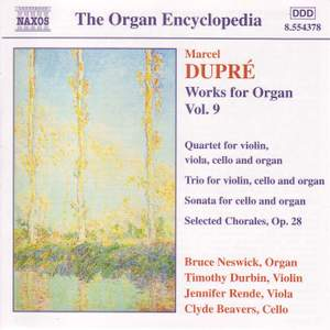 Dupre: Works For Organ, Vol. 9