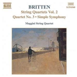 Britten: String Quartets, Vol. 2