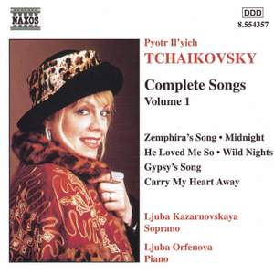 Tchaikovsky - Complete Songs Volume 1 Product Image