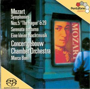 Mozart: Symphonies Nos. 5, 6, 13 & 29