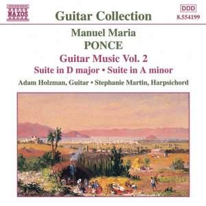 Ponce: Guitar Music, Vol. 2