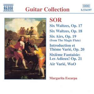 Sor: Waltzes, Airs, Variations & other works for solo guitar