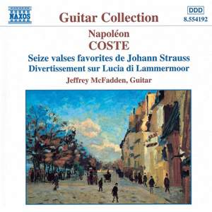 Coste: Guitar Works, Vol. 1
