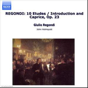 Regondi: Introduction and Caprice, Etudes & Fete Villageoise Product Image