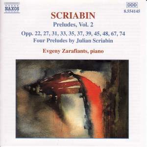 Scriabin: Preludes, Vol. 2 Product Image