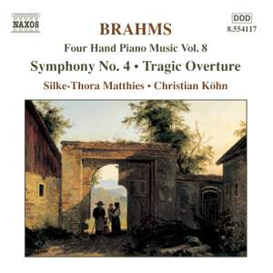 Brahms: Four-Hand Piano Music, Volume 8