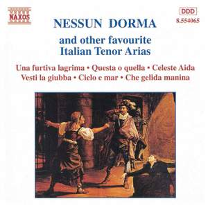 Nessun Dorma And Other Favourite Italian Tenor Arias