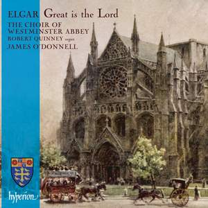 Elgar - Great is the Lord Product Image