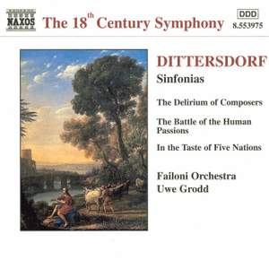 Dittersdorf: Three Descriptive Sinfonias Product Image