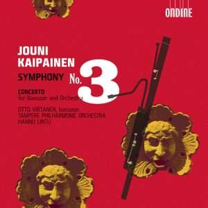 Kaipainen: Symphony No. 3 & Bassoon Concerto