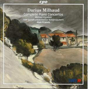 Milhaud - Complete Piano Concertos Product Image