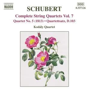 Schubert - Complete String Quartets Volume 7