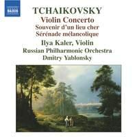 Tchaikovsky: Violin Concerto, Souvenir d'un lieu cher, Sérénade Mélancolique