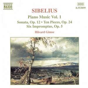Sibelius: Piano Music, Vol. 1