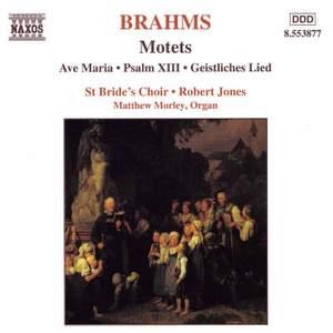 Brahms - Motets Product Image