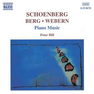 Schoenberg/Berg/Webern: Piano Music Product Image