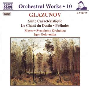 Glazunov - Orchestral Works Volume 10 Product Image